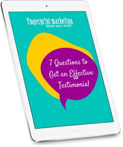 7 Questions for an Effective Testimonial