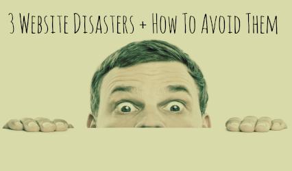 Website Disasters