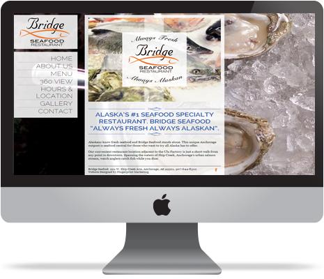 Bridge Seafood Marketing Restaurant Online SEO