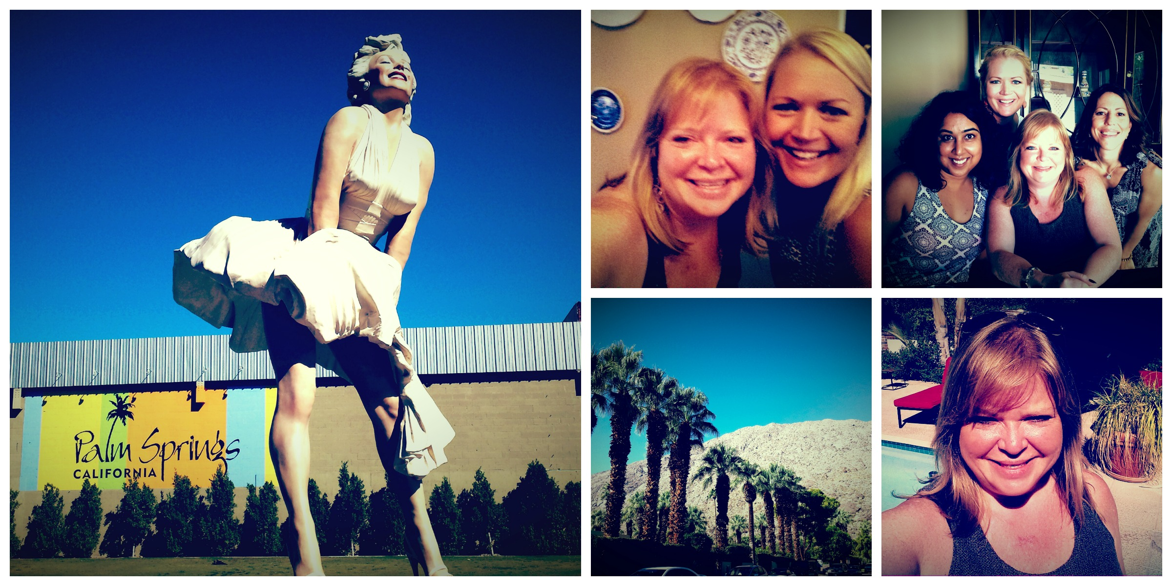 Palm Springs Collage