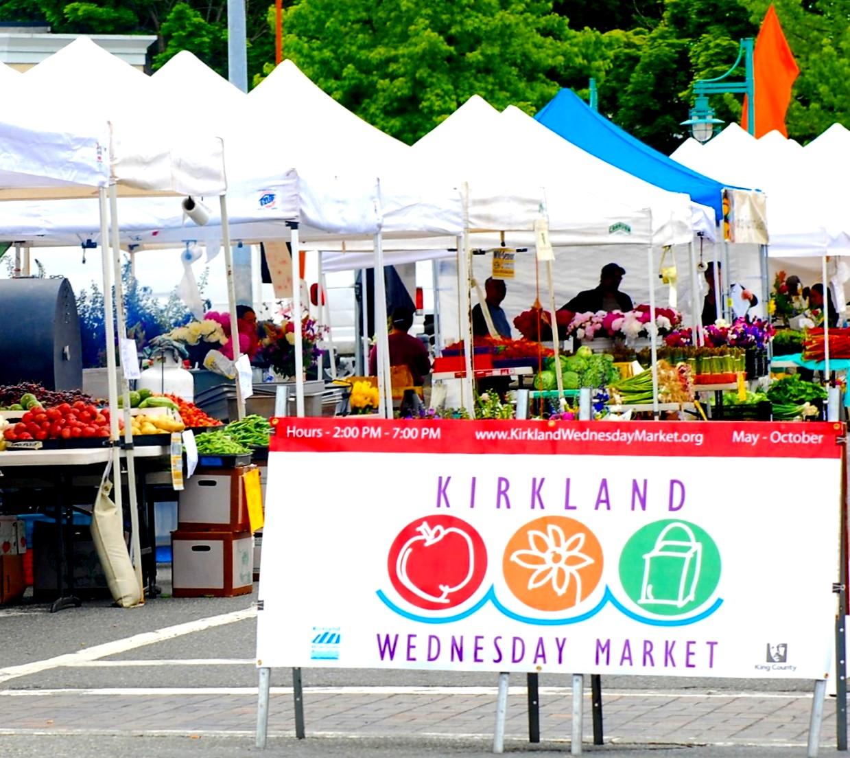 Wednesday Market Downtown Kirkland Marina Park
