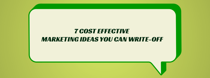 Cost Effective Marketing Ideas