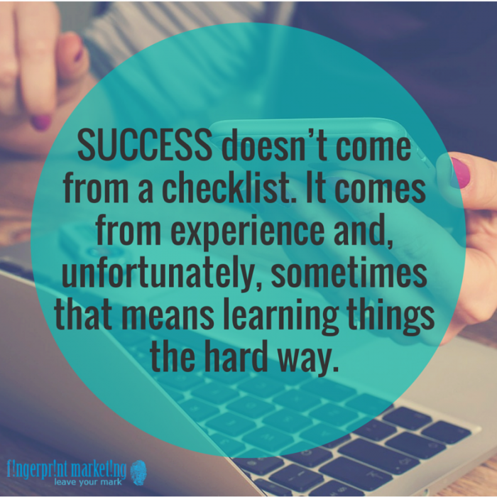 success and hard work