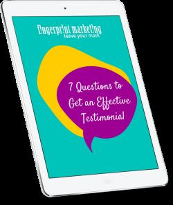 Get an Effective Testimonial