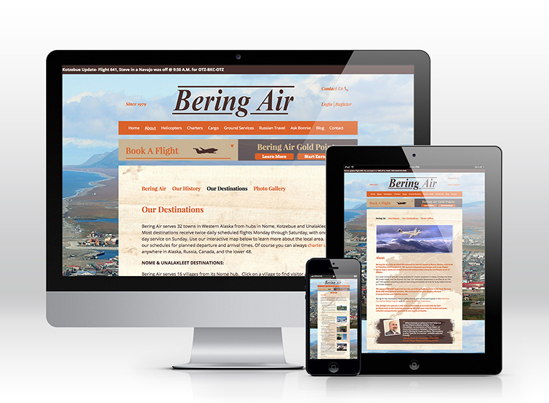 Bering Air website