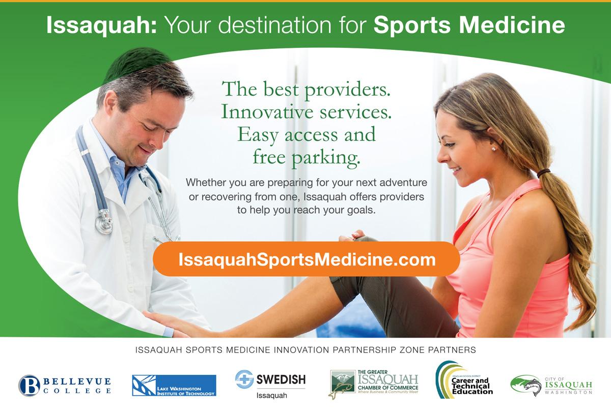 City of Issaquah Print Ad   Fingerprint Marketing