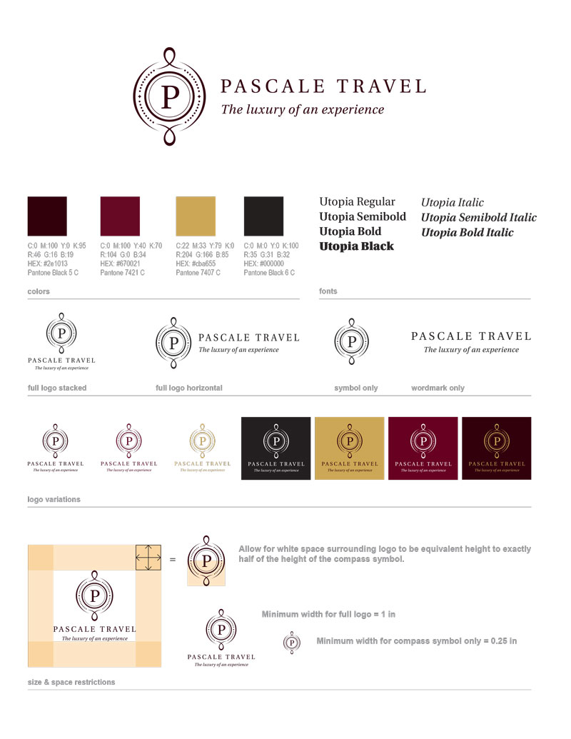 Pascale Travel Style Guide by Fingerprint Marketing