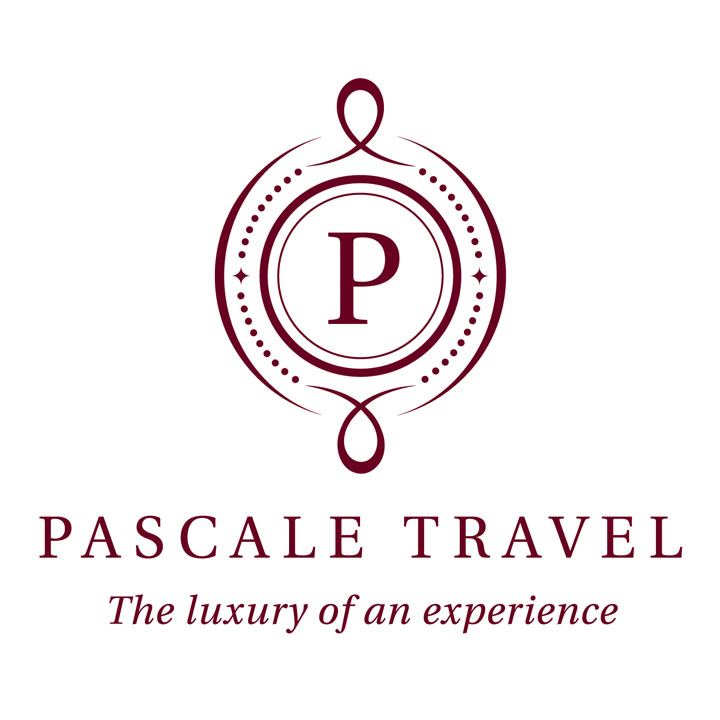 Pascale Travel logo by Fingerprint Marketing