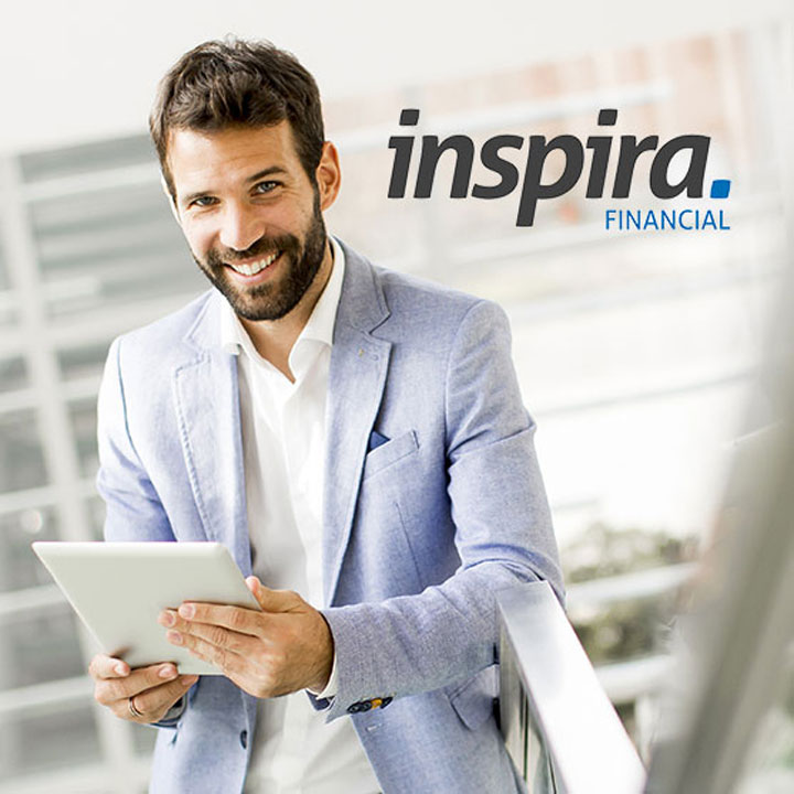 Inspira Financial website designed by Fingerprint Marketing