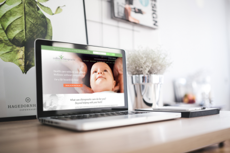 Collins Chiropractic website - designed by Fingerprint Marketing