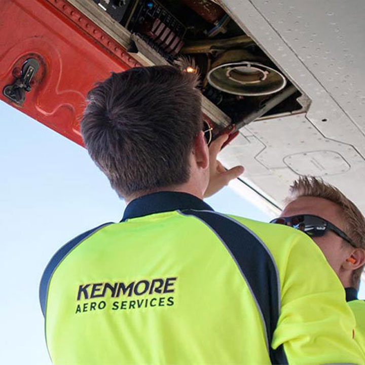 Kenmore Aero Services website designed by Fingerprint Marketing