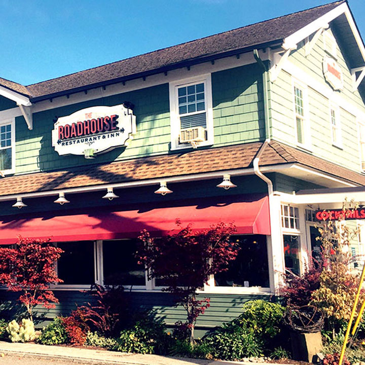 Roadhouse Restaurant and Inn website designed by Fingerprint Marketing
