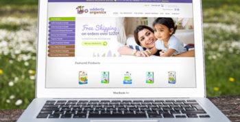 Udderly Organics website designed by Fingerprint Marketing