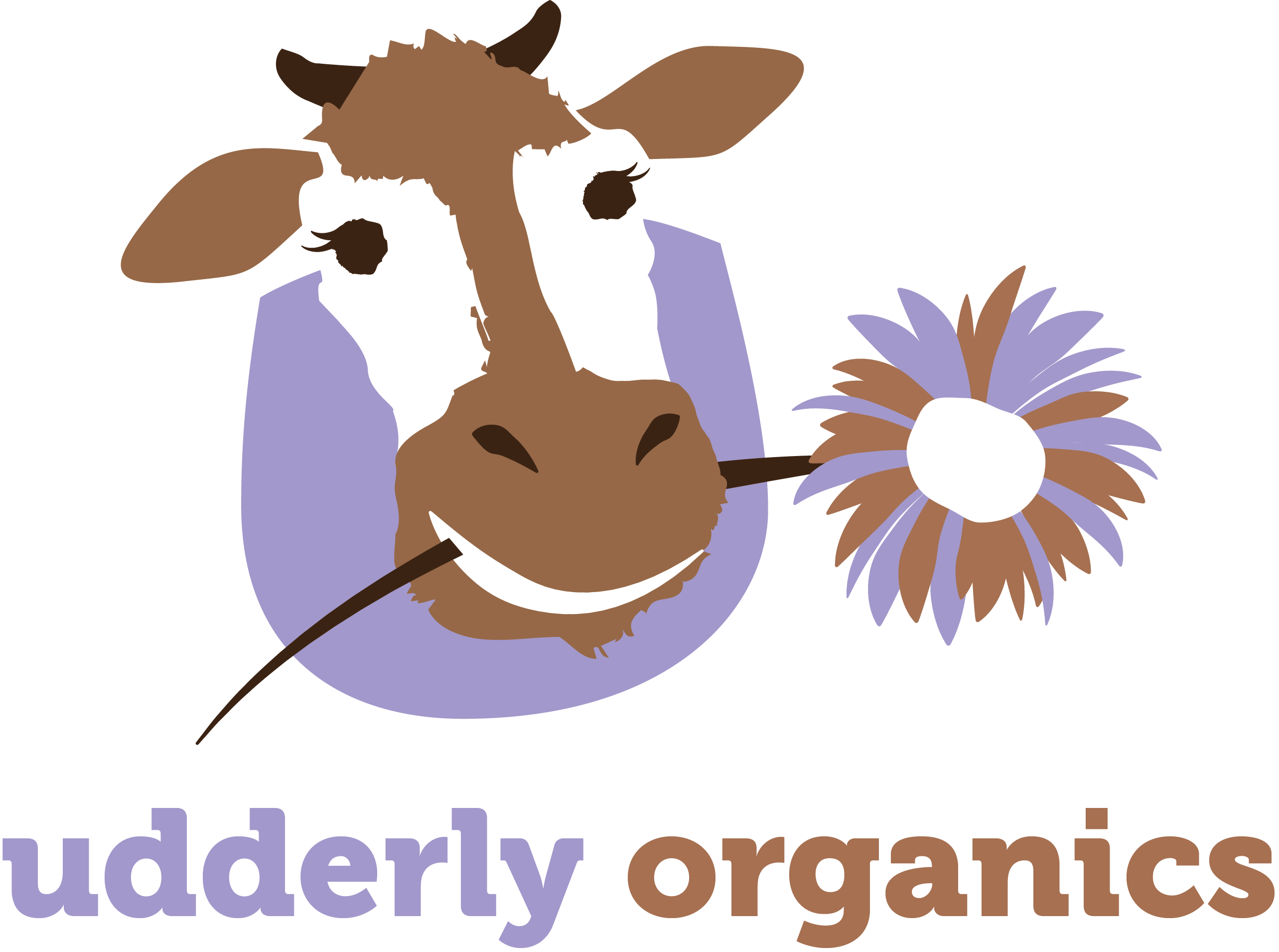 Udderly Organics logo designed by Fingerprint Marketing
