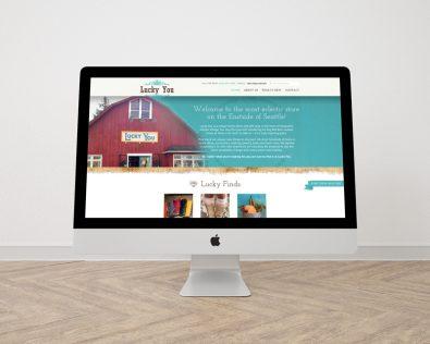 Lucky You website designed by Fingerprint Marketing