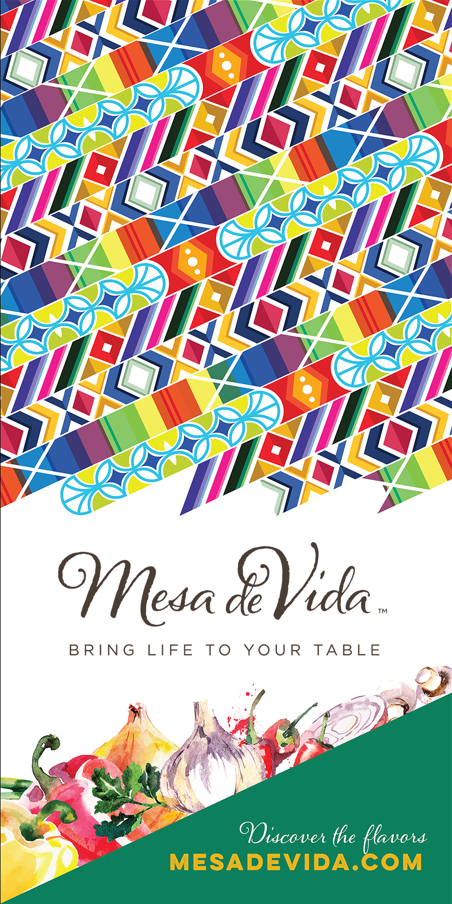 Mesa de Vida table runner