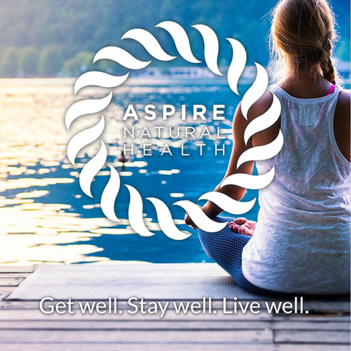 Aspire Natural Health website designed by Fingerprint Marketing