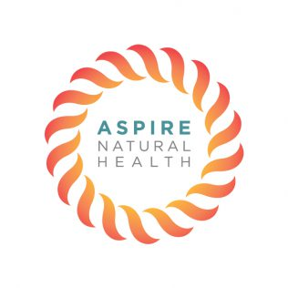 Aspire Natural Heath logo designed by Fingerprint Marketing
