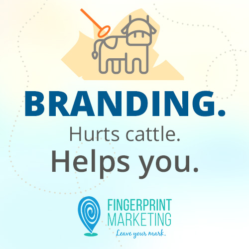 Branding. Hurts cattle. Helps you.