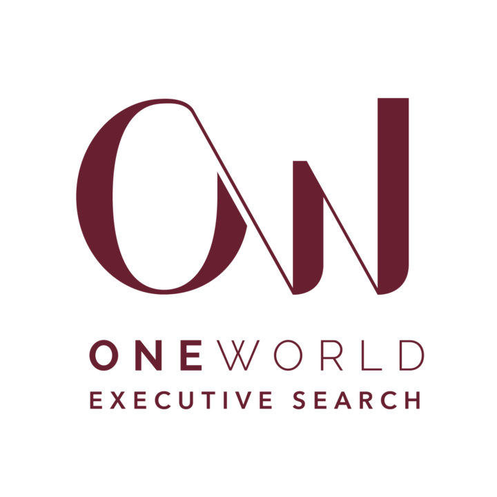 One World Executive Search logo design by Fingerprint Marketing