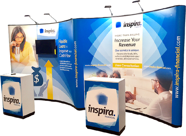Inspira booth