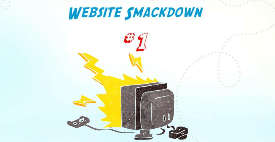 Website Smackdown - Acute Injury Care