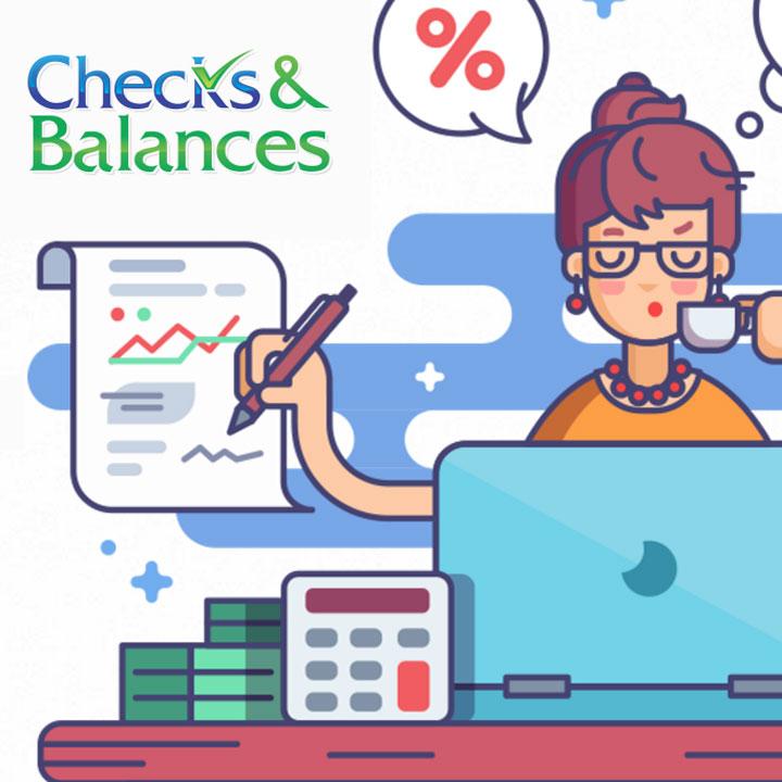 Checks & Balances website design by Fingerprint Marketing
