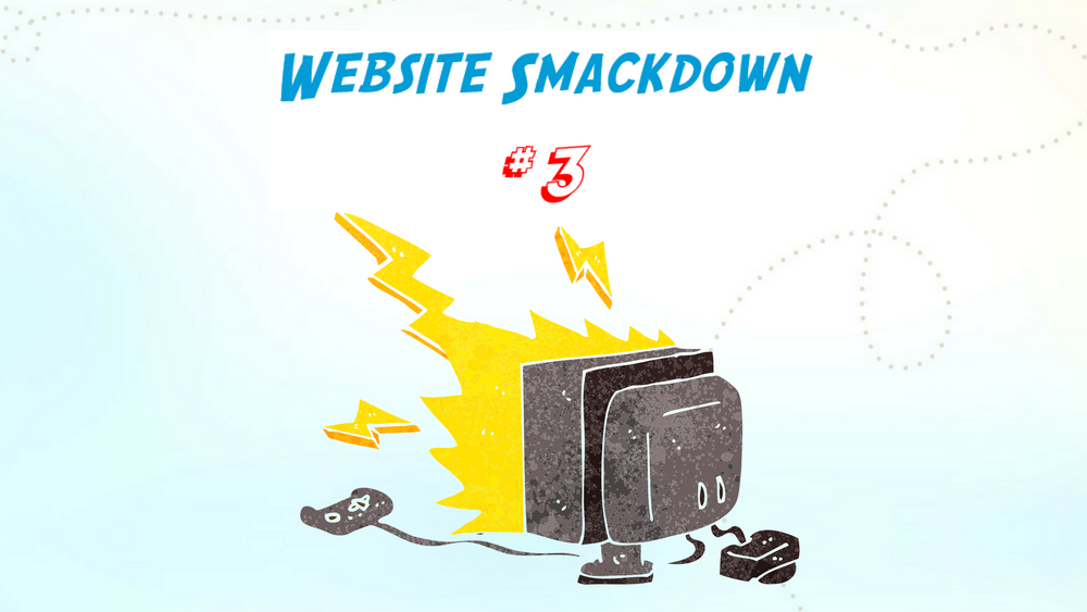 Website Smackdown no 3 by Fingerprint Marketing