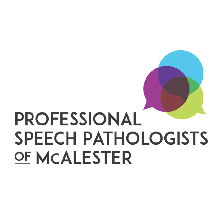 Professional Speech Pathologists of McAlester - logo design by Fingerprint Marketing