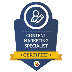 Content Marketing Specialist Certified