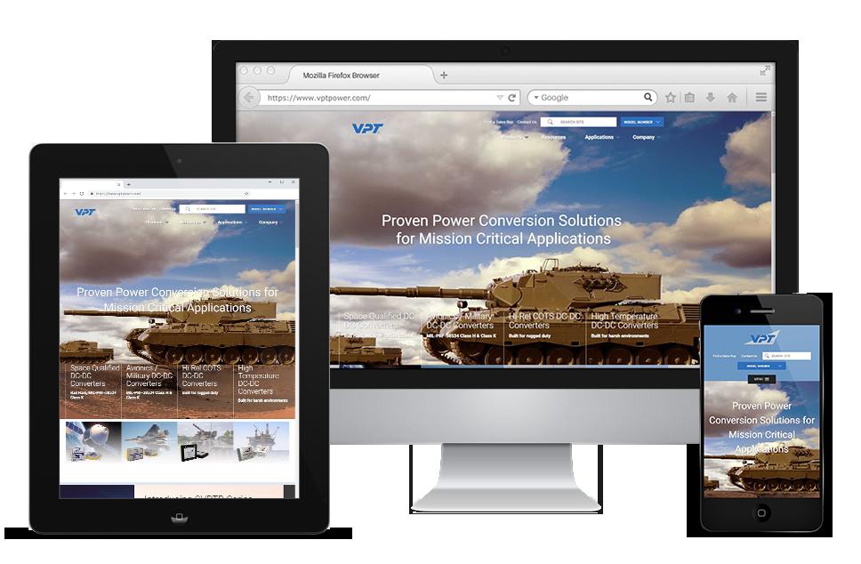 VPT Power Website Display