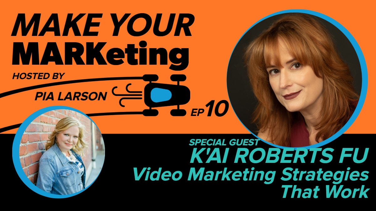 Video and video marketing strategies from a top expert, K'ai Roberts Fu