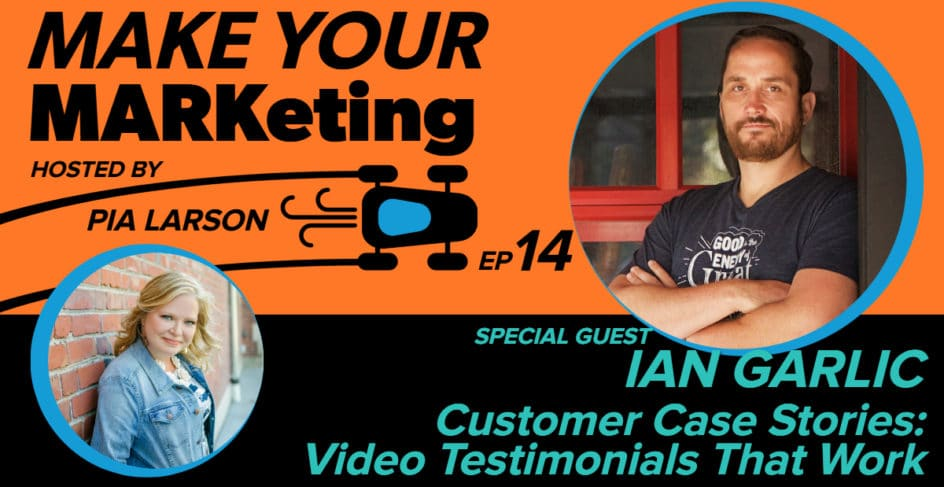 Video case stories, testimonials that work! with Ian Garlic